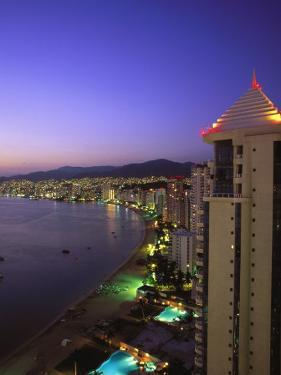 Beachfront, Acapulco, Mexico by Walter Bibikow
