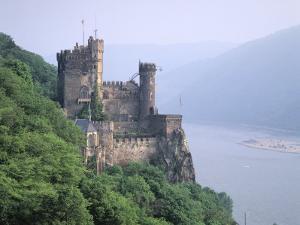 Burg Rheinstein, Rhine Valley, Germany by Walter Bibikow