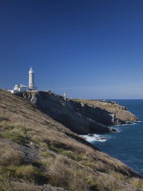 Cabo Mayor Lighthouse, Santander, Spain by Walter Bibikow