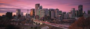 Calgary, Alberta, Canada by Walter Bibikow