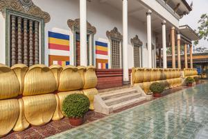 Cambodia, Siem Reap. Wat Preah Prohm Roth. by Walter Bibikow