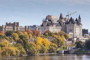 Canada, Ontario, Ottawa, autumn by Walter Bibikow