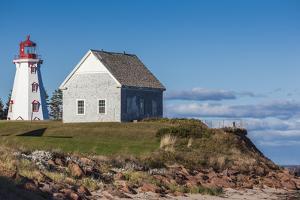 Canada, Prince Edward Island, Panmure Head Lighthouse. by Walter Bibikow