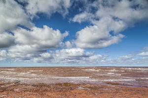 Canada, Prince Edward Island, Point Prim. Seascape on the Northumberland Strait. by Walter Bibikow