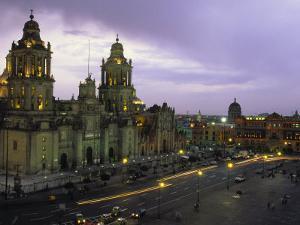 Cathedral Metropolitana, Mexico City, Mexico by Walter Bibikow