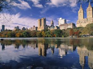 Central Park, New York City, Ny, USA by Walter Bibikow