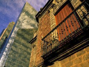 Centro Bursatil, Paseo de la Reforma, Mexico City, Mexico by Walter Bibikow