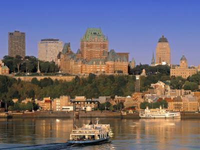 Chateau Frontenac, Quebec City, Quebec, Canada by Walter Bibikow