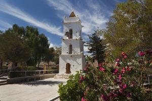 Chile, Atacama Desert, Toconao, Iglesia De San Lucas Church by Walter Bibikow