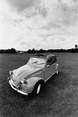 Citroen 2CV, Black and White Picture by Walter Bibikow