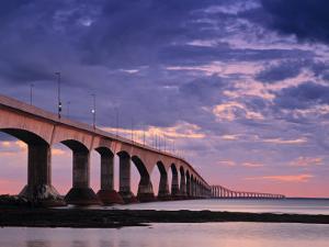 Confederation Bridge, Borden-Carleton, Prince Edward Island, Canada by Walter Bibikow