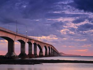 Confederation Bridge, Borden-Carleton, Prince Edward Island, Canada by Walter Bibikow