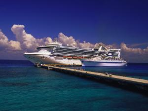 Cruise Ship, Cozumel, Mexico by Walter Bibikow