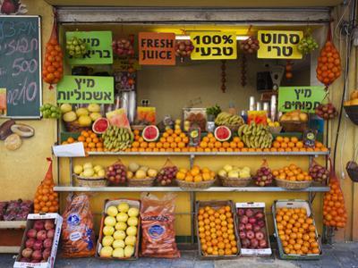 Downtown Fruit Stand, Tel Aviv, Israel