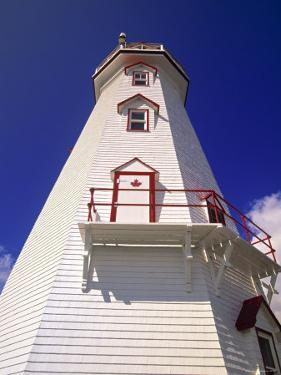 East Point Lighthouse, Prince Edward Island, Canada by Walter Bibikow