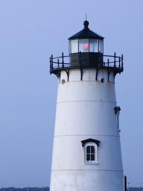 Edgartown Lighthouse, Edgar Town, Martha's Vineyard, Massachusetts, USA by Walter Bibikow