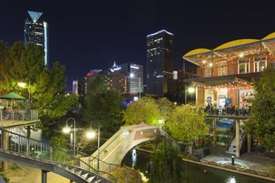 Entertainment District, Bricktown, Oklahoma City, Oklahoma, USA