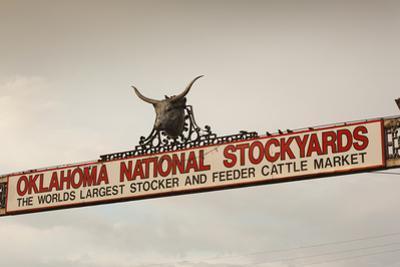 Entrance, Oklahoma National Stockyards, Oklahoma City, Oklahoma, USA