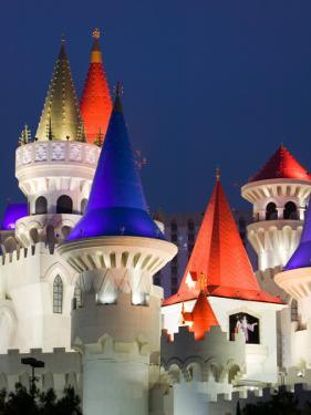 Excalibur Casino, Las Vegas, Nevada, USA by Walter Bibikow
