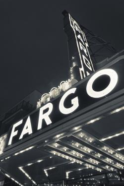Fargo Theater Sign, Fargo, North Dakota, USA by Walter Bibikow