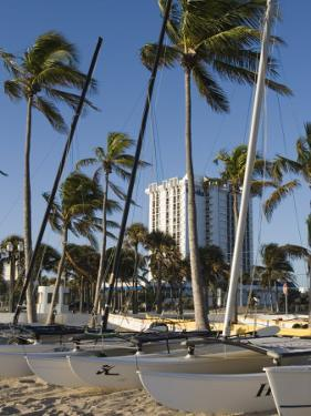 Fort Lauderdale Beach, Fort Lauderdale, Florida by Walter Bibikow