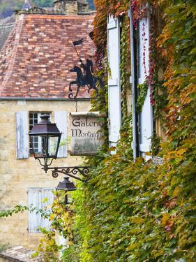 France, Aquitaine Region, Dordogne Department, Sarlat-La-Caneda, Rue Montaigne by Walter Bibikow