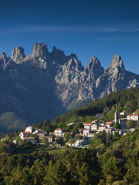 France, Corsica, Corse-Du-Sud Department, La Alta Rocca Region, Zonza by Walter Bibikow