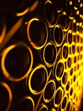 France, Marne, Champagne Region, Epernay, Moet and Chandon Champagne Winery, Champagne Cellars by Walter Bibikow