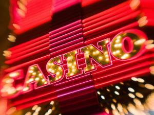 Freemont Street Experience, Downtown Binion's Horseshoe Casino, Las Vegas, Nevada, USA by Walter Bibikow