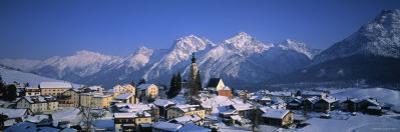 Ftan, Graubunden, Switzerland by Walter Bibikow