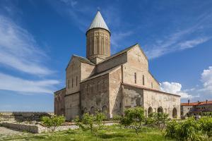 Georgia, Kakheti, Alaverdi. Alaverdi Cathedral, 11th century. by Walter Bibikow