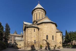 Georgia, Tbilisi. Old Town, Cathedral exterior. by Walter Bibikow
