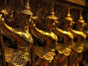 Golden Figures, Thailand by Walter Bibikow