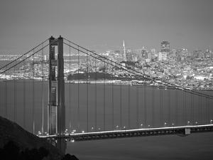 Golden Gate Bridge, San Francisco, California, USA by Walter Bibikow
