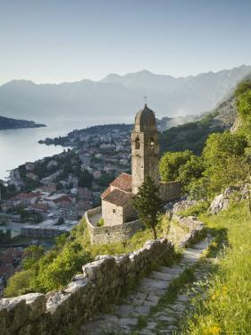 Gospa Od Zdravlja Church, Kotor, Kotor Bay, Montenegro by Walter Bibikow