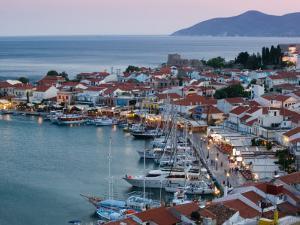 Harbor View, Pythagorio, Samos, Aegean Islands, Greece by Walter Bibikow