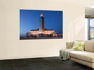 Hassan Ii Mosque, Casablanca:, Morocco by Walter Bibikow