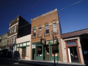Historic Buildings in South Central Old City, Knoxville, Tennessee by Walter Bibikow