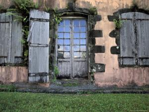 Historic Sugar Plantation House, Martinique, Caribbean by Walter Bibikow
