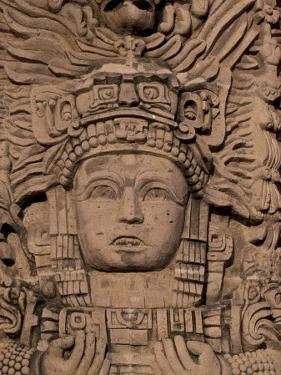 Hotel Mayan Palace, Mayan Sculpture, Puerto Vallarta, Mexico by Walter Bibikow