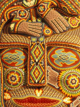 Huichol Indian Crafts Beadwork, Cabo San Lucas, Baja California Sur, Mexico by Walter Bibikow