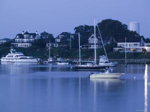Inner Harbour, Edgar Town, Martha's Vineyard, Massachusetts, USA by Walter Bibikow