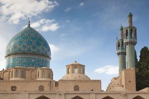 Iran, Mahan, Aramgah-E Shah Nematollah Vali, Mausoleum Of Sufi Dervish Shah Nematollah Vali by Walter Bibikow