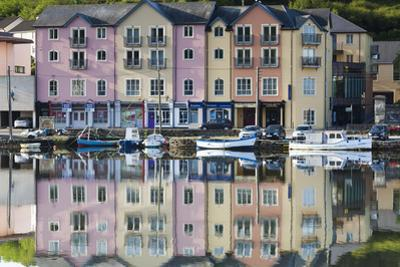 Ireland, County Cork, Bantry, harborfront buildings by Walter Bibikow