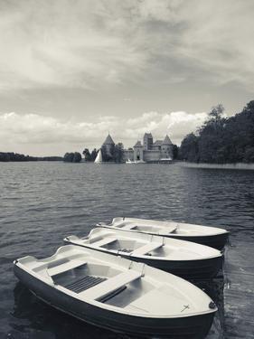 Island Castle on Lake Galve, Trakai Historical National Park, Trakai, Lithuania by Walter Bibikow