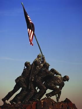 Iwo Jima Memorial, Washington DC, USA by Walter Bibikow