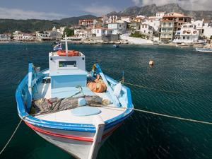 Kokkari Waterfront, Samos, Aegean Islands, Greece by Walter Bibikow