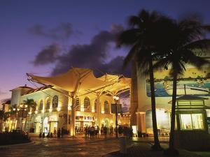 Las Islas Shopping Center, Cancun, Mexico by Walter Bibikow