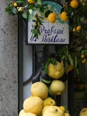 Lemons, Positano, Amalfi Coast, Campania, Italy by Walter Bibikow