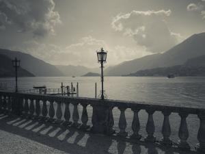 Lombardy, Lakes Region, Lake Como, Bellagio, Grand Hotel Villa Serbelloni, Lakefront, Italy by Walter Bibikow